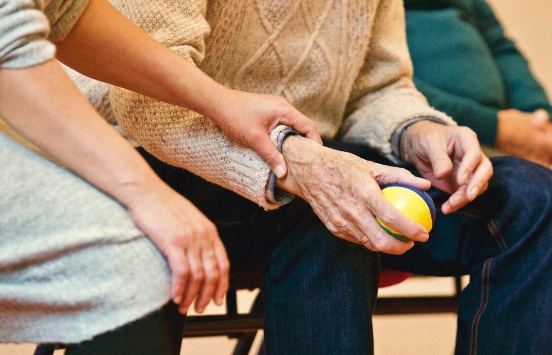 Oncologiefysiotherapeuten begeleidt de patient in het vinden van rust